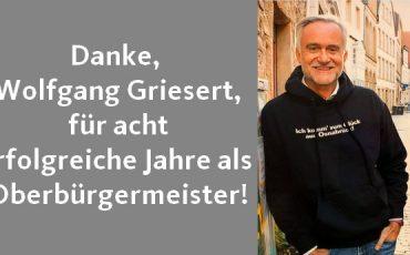 Danke Wolfgang Griesert